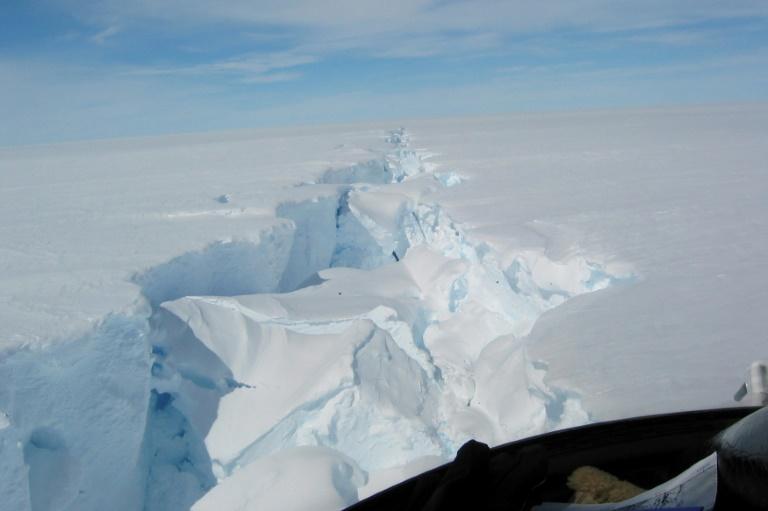 Massive iceberg breaks off Antarctica -- but it's normal