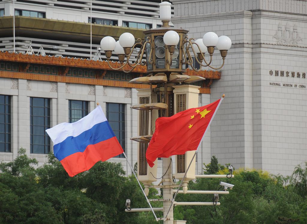 Xi, Putin exchange congratulations on 70 years of diplomatic ties