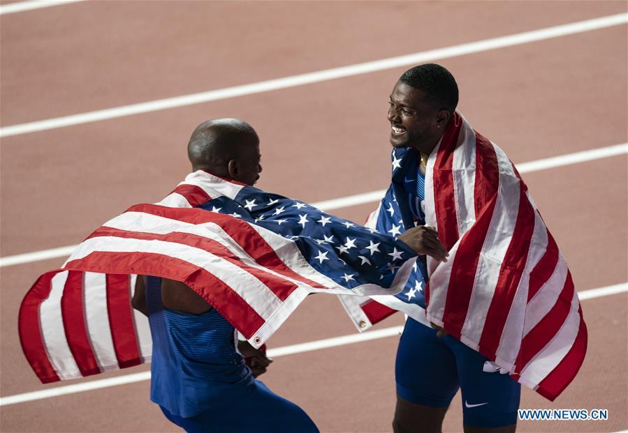In pics: men's 100m final at 2019 IAAF World Athletics Championships