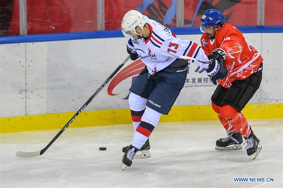 Silk Road Supreme Hockey League: Tsen Tou vs. Torpedo-Gorky