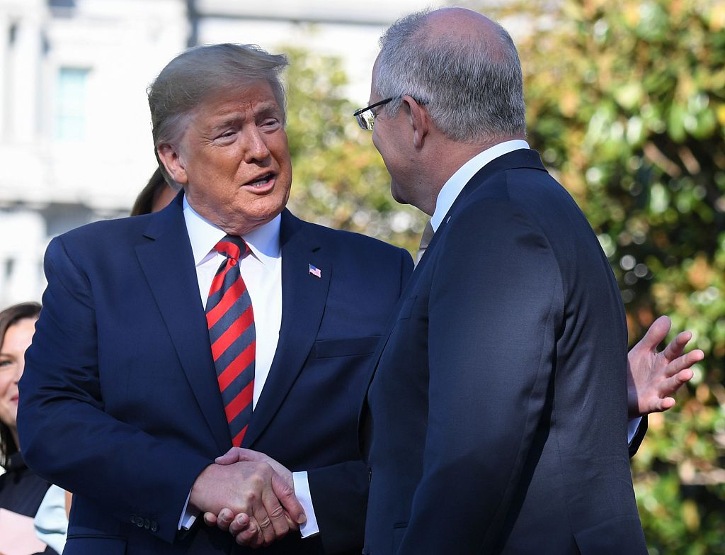 Australian PM urged to release transcript of phone call with US president