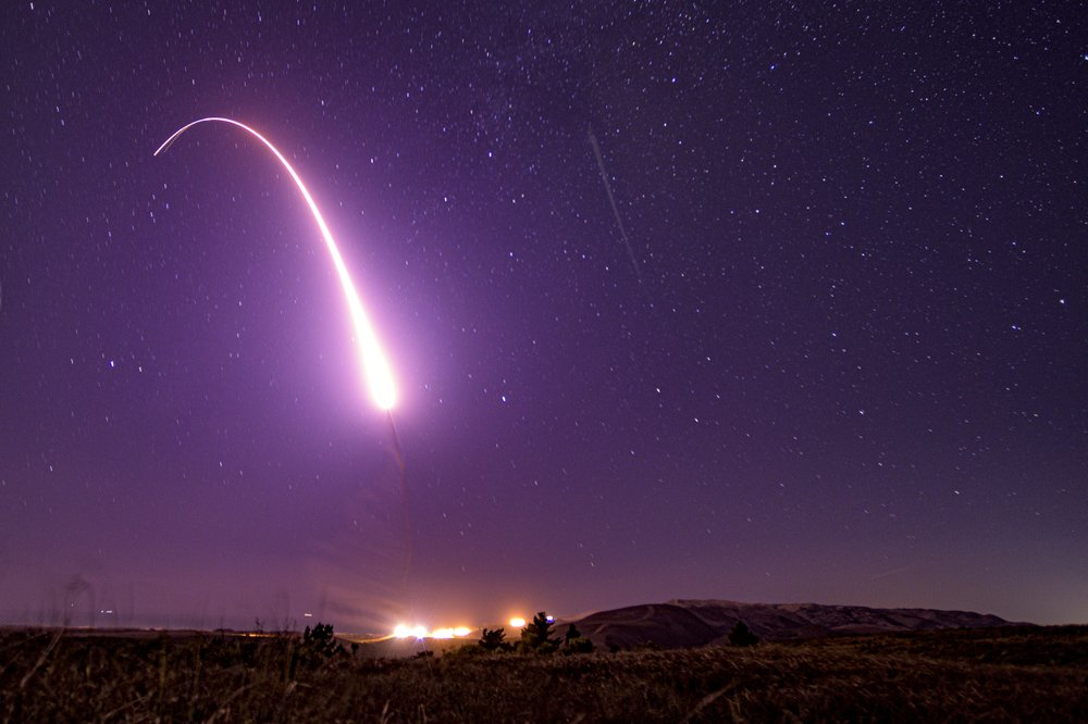 US Air Force test-launches intercontinental ballistic missile
