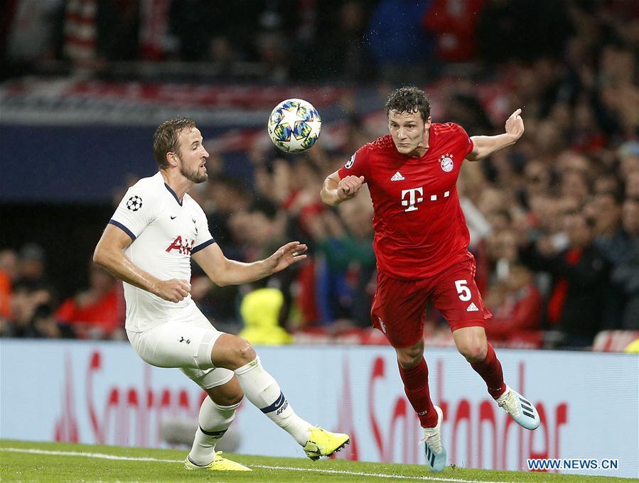 Bayern Munich beats Tottenham Hotspur 7-2 in UEFA Champions League