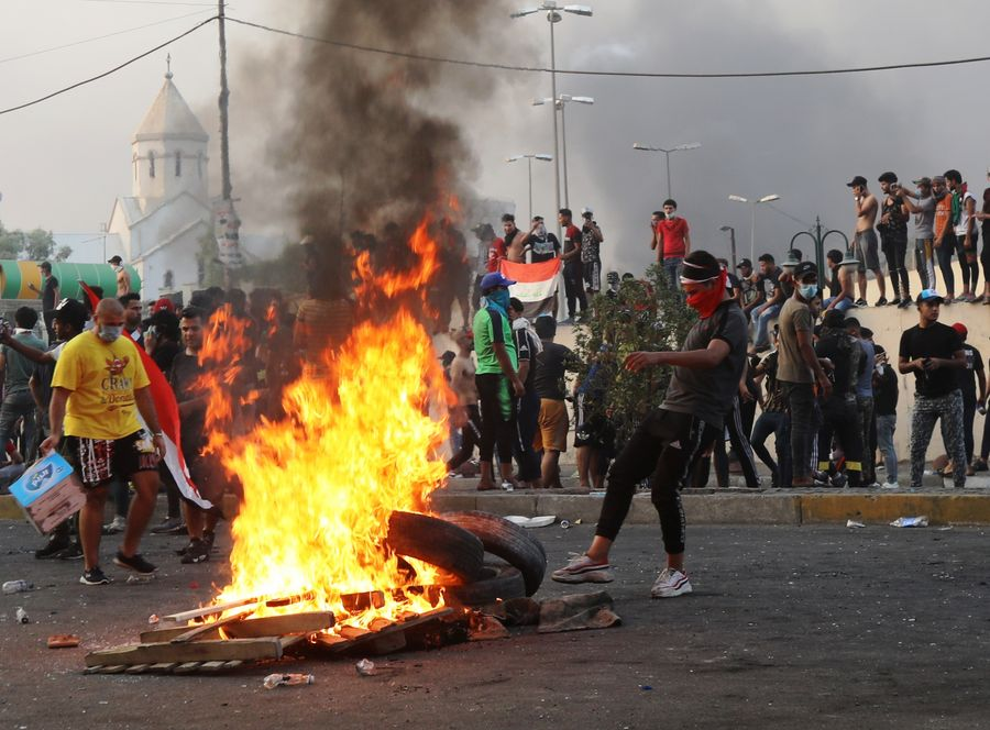 Death toll rises to 26 in Iraq's violent protests