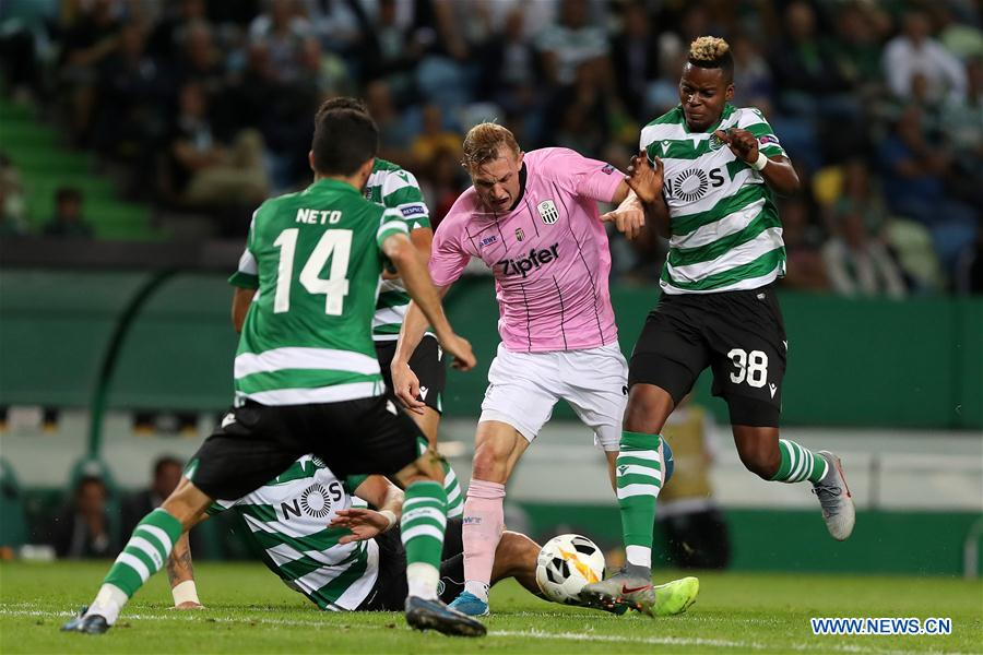 UEFA Europa League group D match: Sporting CP vs. LASK Linz