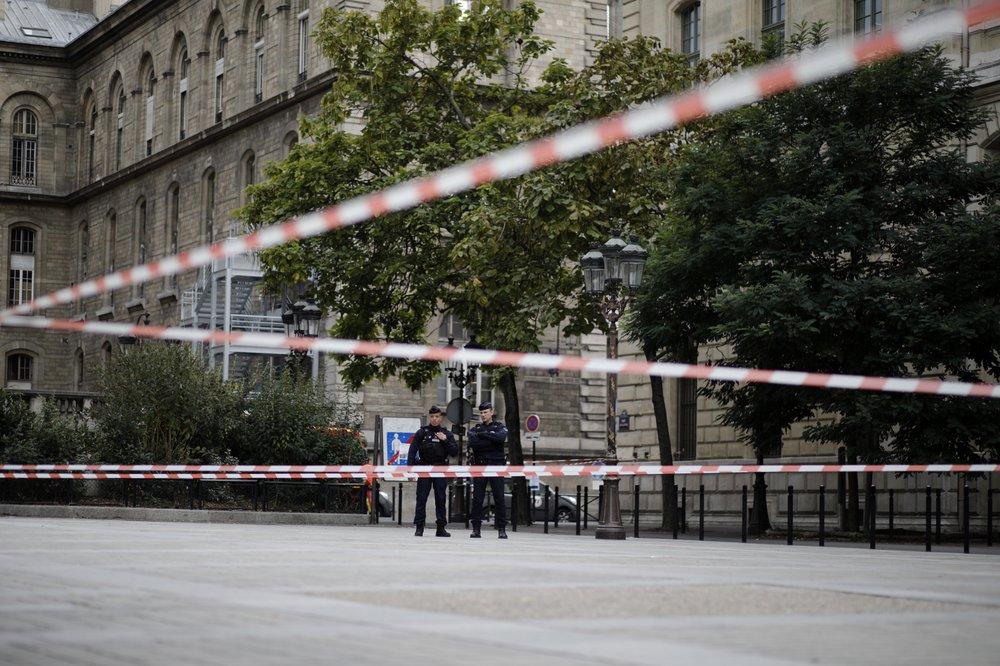 Four police killed in Paris stabbing, attacker shot dead