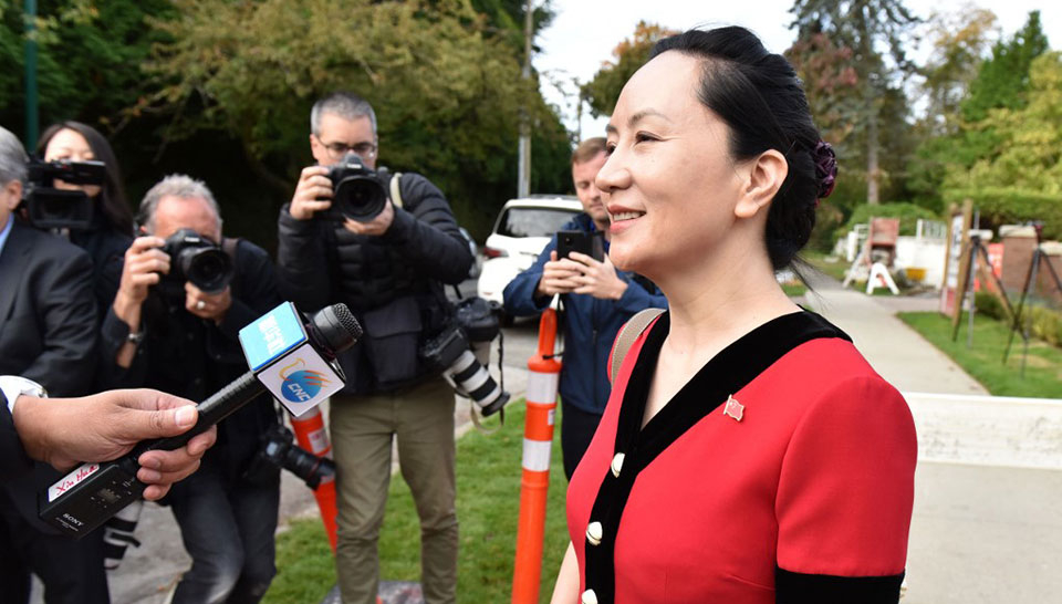 Huawei CFO's lawyers accuse Canadian police of unlawful sharing to FBI