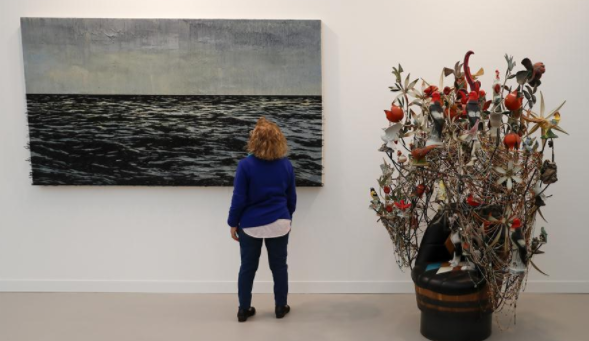 Artworks at Frieze London art fair