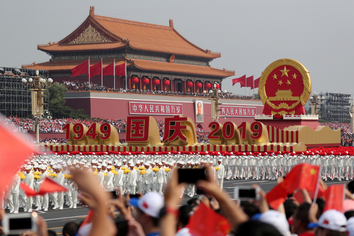 Xi's National Day speech boosts world's confidence in China's future