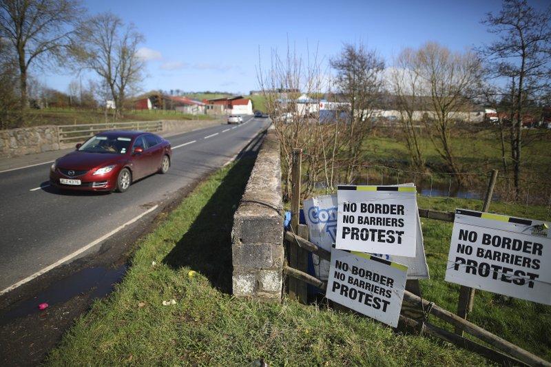 UK Brexit plans stir talk of Irish unity among activists