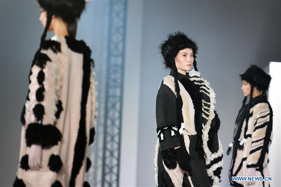 Fashion show held at Songshan Cultural and Creative Park in Taipei, China's Taiwan