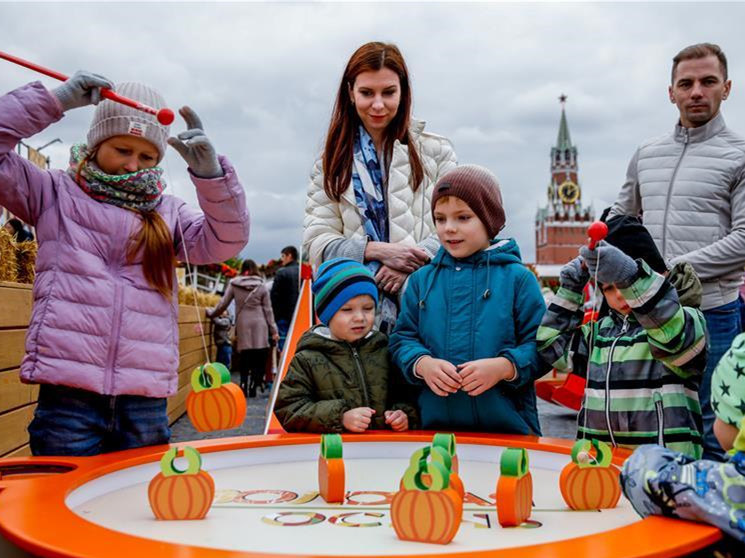 """""""Golden Autumn"""" festival marked in Moscow"""