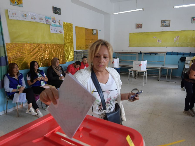 Voting begins in Tunisia's parliamentary elections