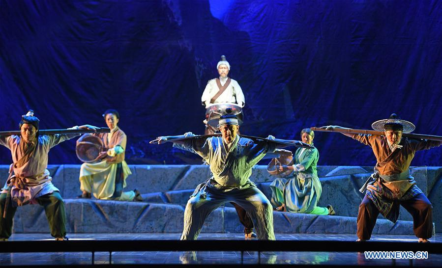 Children's play 'Yugong removing mountains' staged in Nanchang