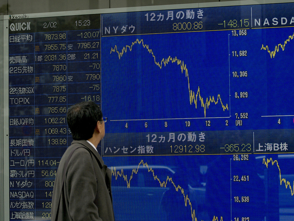 Tokyo stocks close slightly lower on concerns over global economic outlook