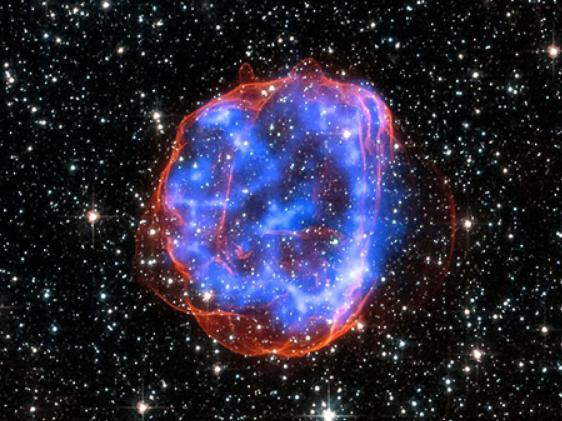 Milky Way center explosion happened 3.5 million years ago