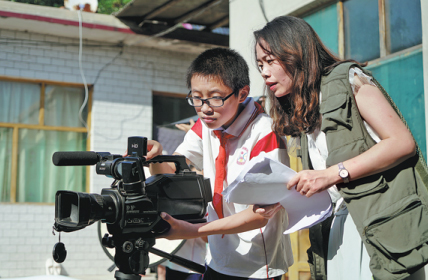 Children realize movie dreams in this summer