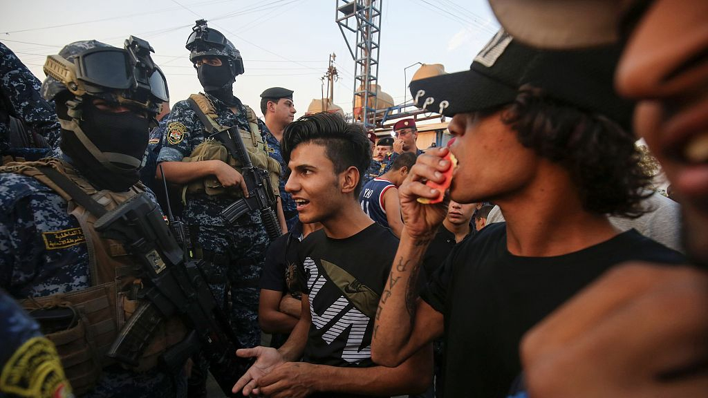 Iraqi president calls for national dialogue amid deadly protests