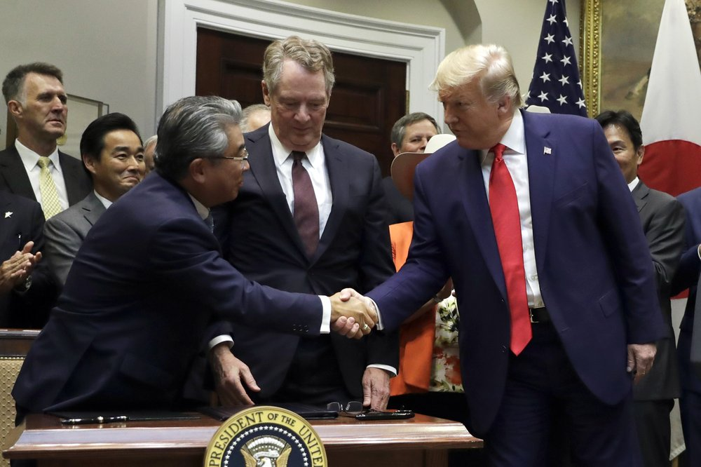 US signs limited deal with Japan on ag, digital trade
