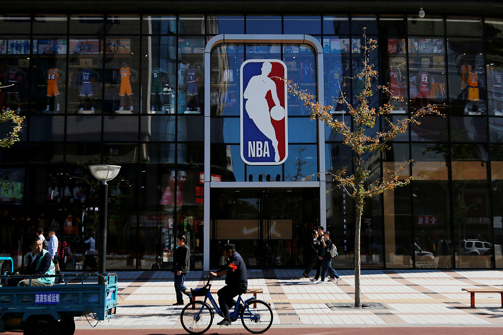 China state media's sports channel to immediately suspend NBA broadcasts