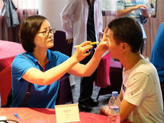 Chinese medical team to Morocco holds free clinic in Casablanca
