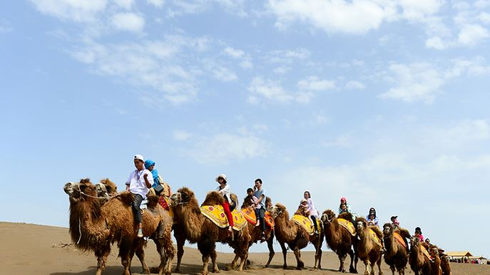 Xinjiang receives over 180 mln tourists in first nine months