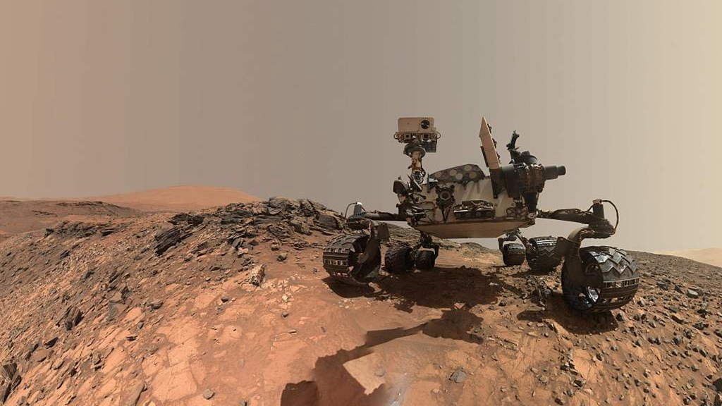NASA's Curiosity rover discovers ancient oasis on Mars
