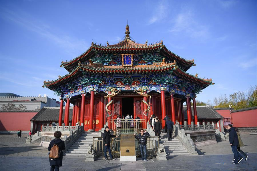 Repaired Shenyang Palace Museum now fully open to public