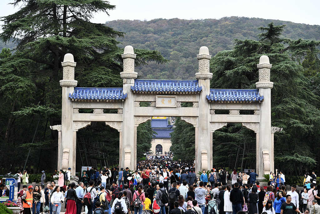 Jiangsu leads the country in tourism revenues