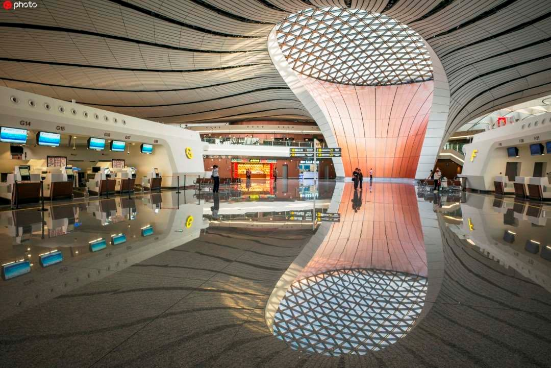 Daxing Airport becomes new visitor attraction