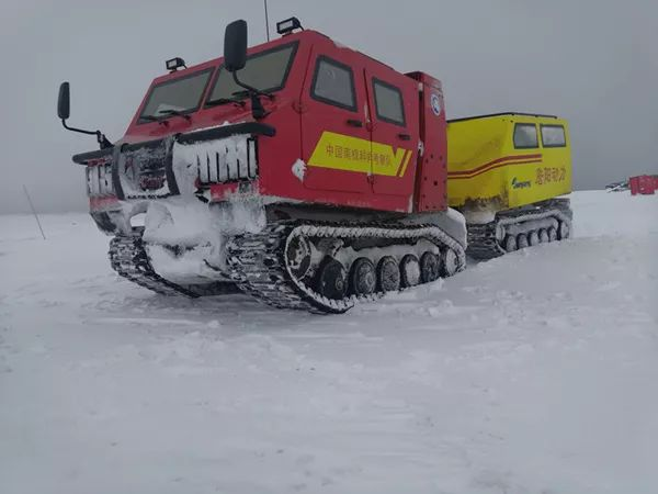 China's new all-terrain vehicle to join 36th Antarctic expedition