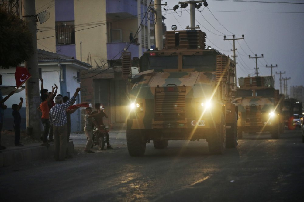 Turkey launches offensive against Kurdish fighters in Syria