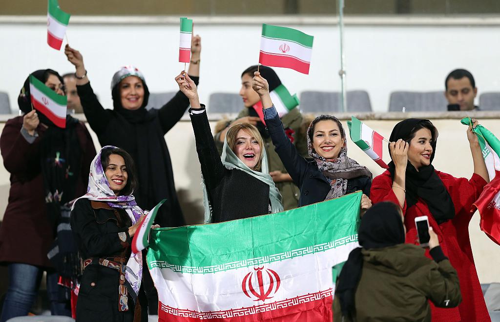 Iranian women allowed to attend soccer match