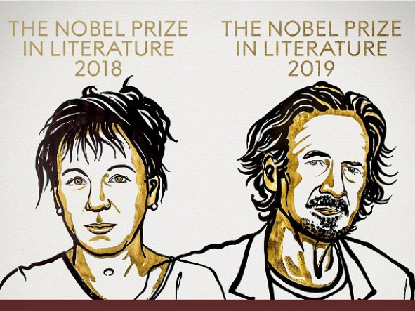 Nobel Prize in Literature for 2018 and 2019 announced