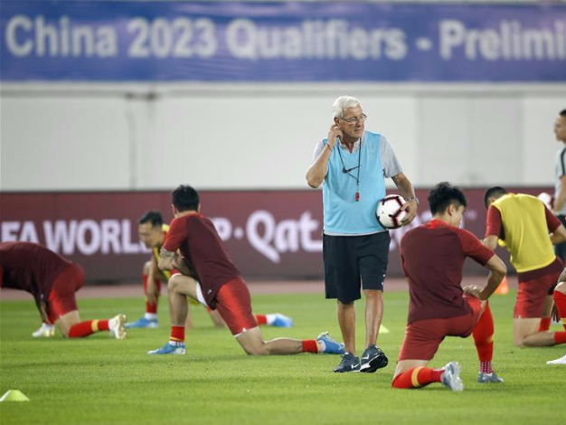 China's players prepare for FIFA World Cup Qatar 2022