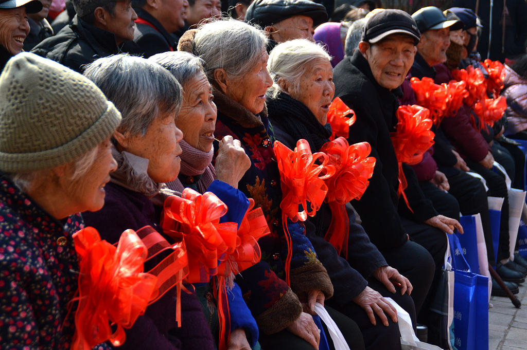 China's elderly to become a third of total population by 2050