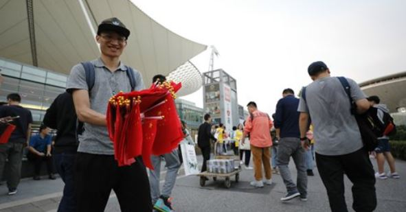 Chinese fans tear up tickets to protest NBA game in Shanghai amid tweet backlash