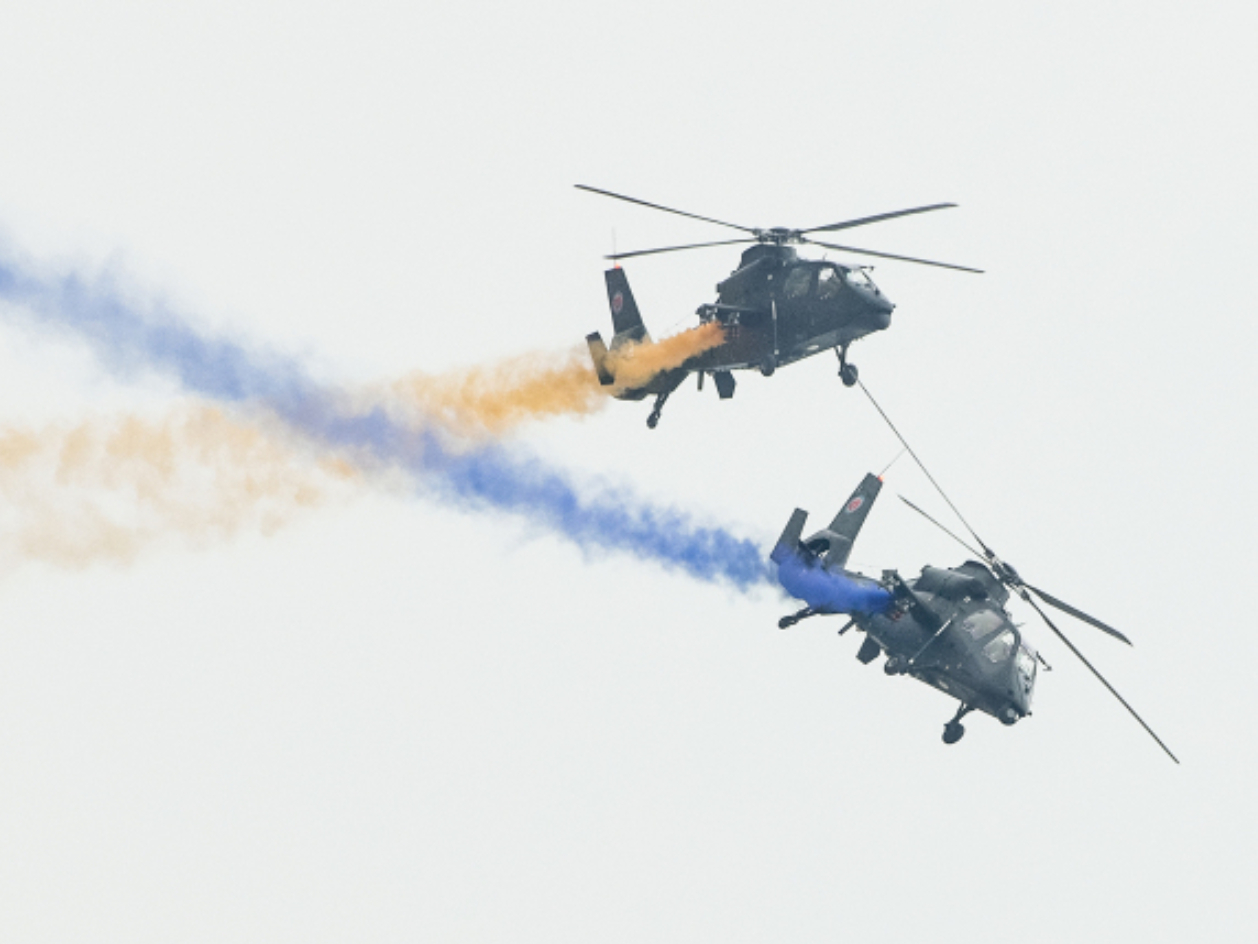 5th China Helicopter Exposition opens in Tianjin