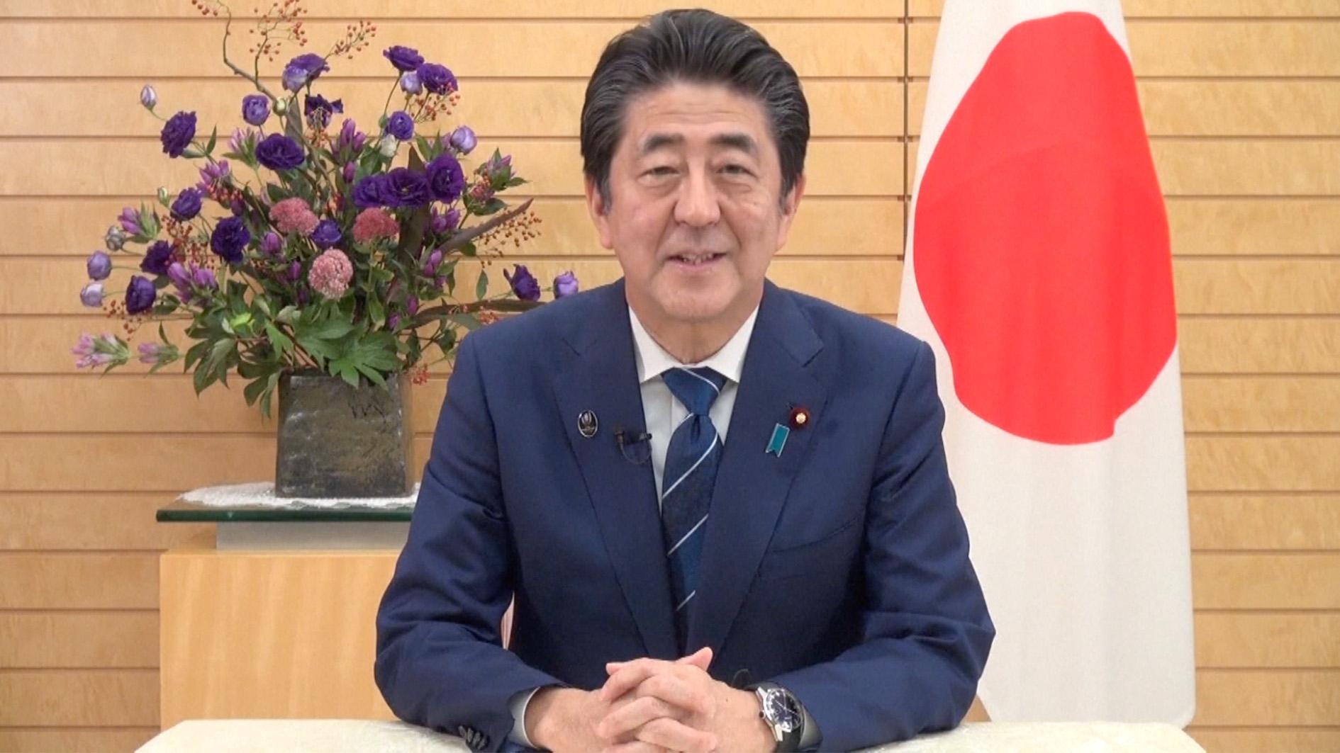Abe vows to work towards new era in Japan-China ties