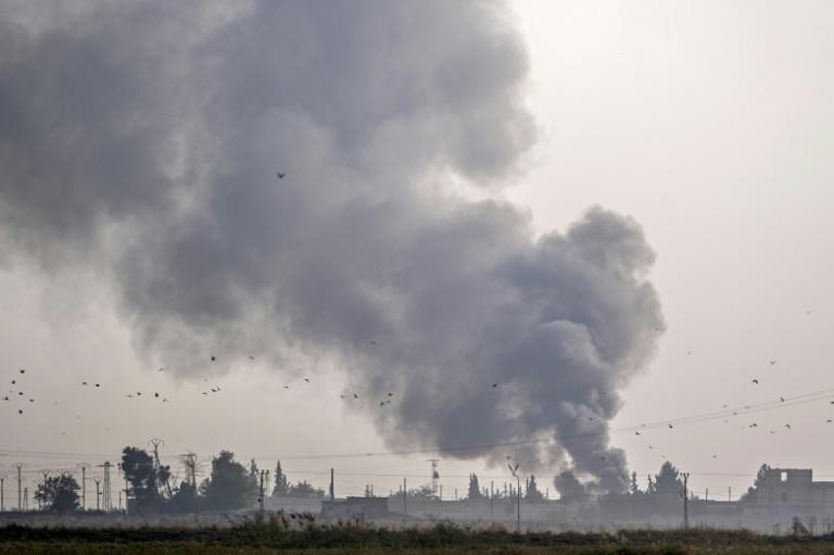 Syria Kurds battle Turkish invasion
