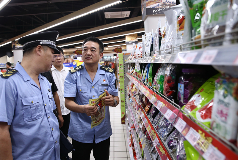 China clamps down on food and drug safety