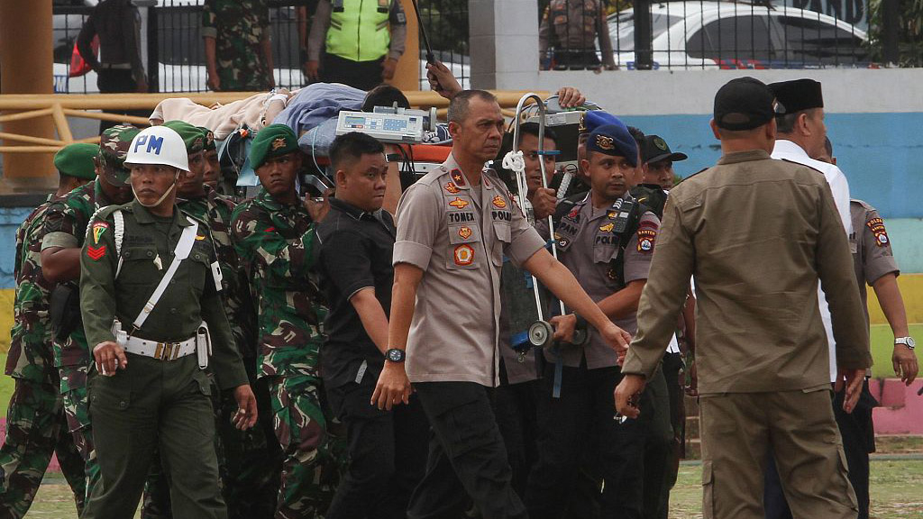 Indonesian security minister survives knife attack