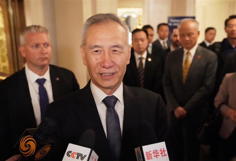 Chinese vice premier meets with IMF chief, US business leaders
