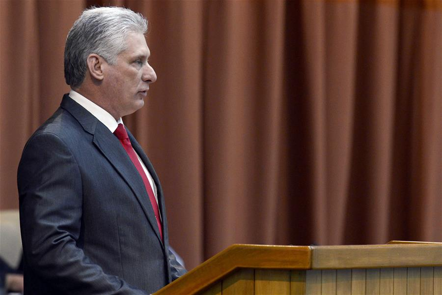 Diaz-Canel elected president of Cuba