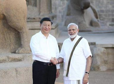 Xi arrives in India for informal meeting with Modi