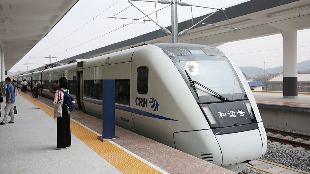 China to operationalize new train diagram today