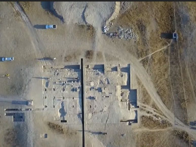 Two large-scale palace relics discovered in China