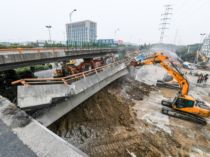 Overloading suspected as cause of bridge collapse
