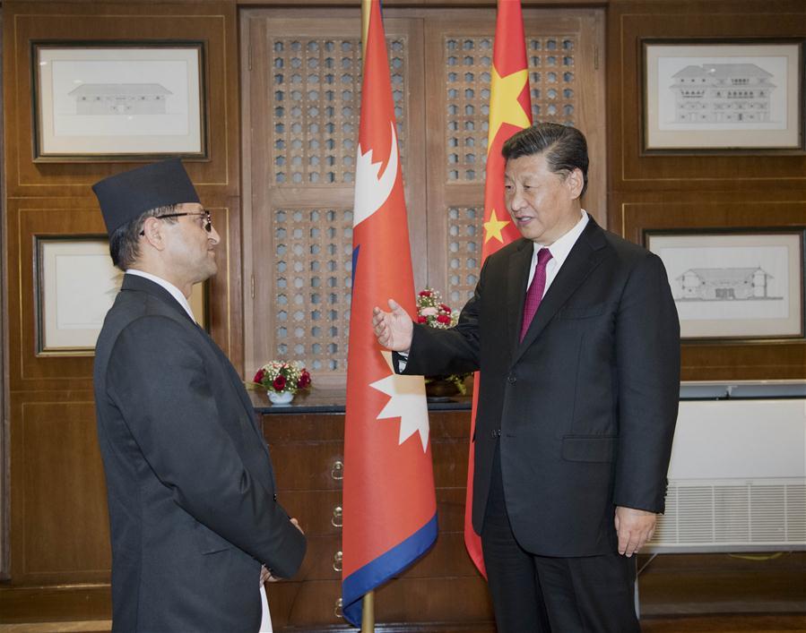 Xi pledges to enhance cooperation between Chinese, Nepali legislatures