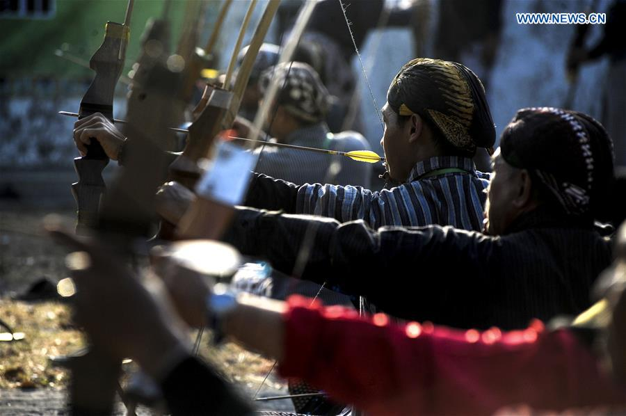 In pics: Javanese traditional archery contest in Indonesia